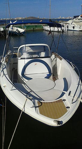 Power boat for rent mar menor